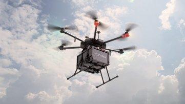 A kísérleti projektben az izraeli Flytrex vállalat drónja szállítja a Walmart termékeit